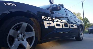 St Clair Shores Police Car
