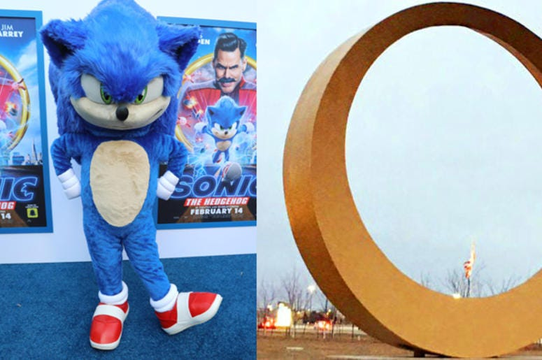 Sonic The Hedgehog To Visit Sterling Heights' Golden Ring