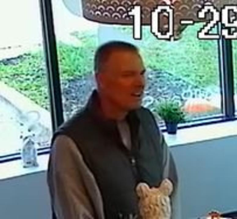 ferndale wanted suspect caught on video
