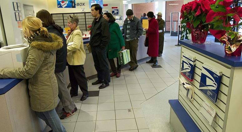 Local Post Offices Extend Hours On Saturday, Sunday Ahead Of Christmas