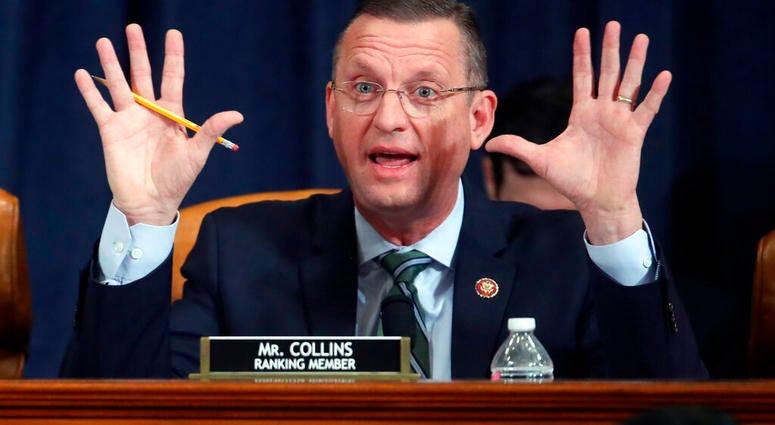 House Judiciary Committee ranking member Rep. Doug Collins