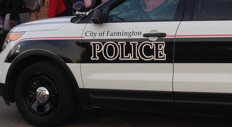 Farmington Police Car