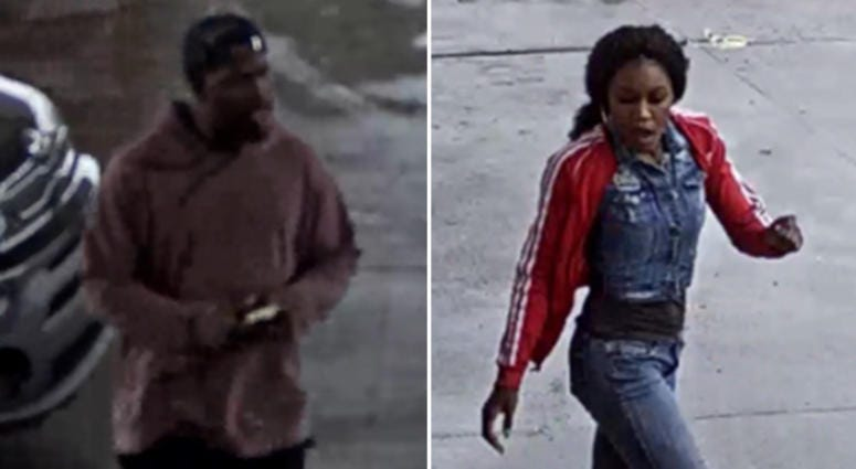 Man, Woman Sought In Detroit Gas Station Shooting