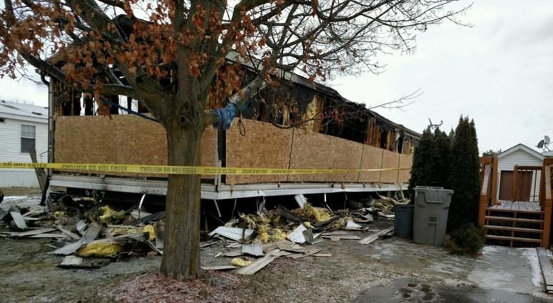 Fourth Child s After Mobile Home Fire In Imlay City | WWJ ... on