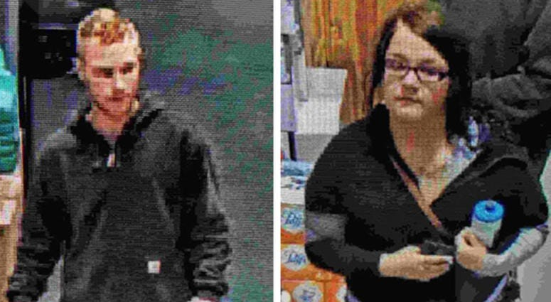 2 wanted for hit and run at menards