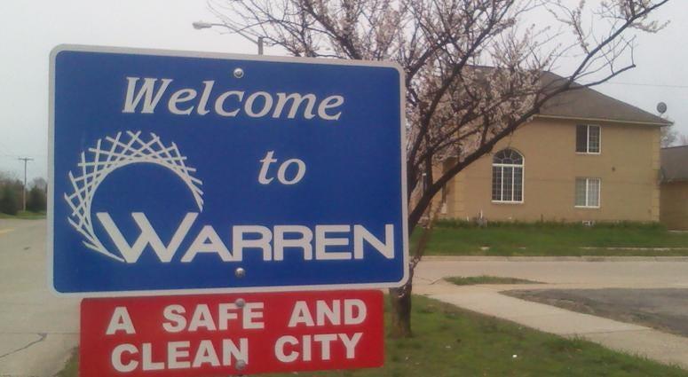 warren city sign