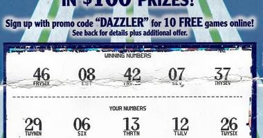 Wayne County Man Wins $2 Million On Scratch-Off Lottery Ticket
