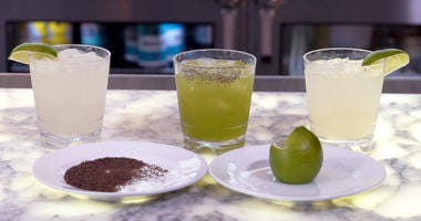 3 different Margaritas for Cinco de Mayo