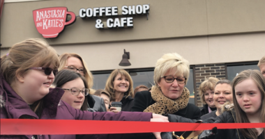 Anastasia and Katie's Coffee Shop