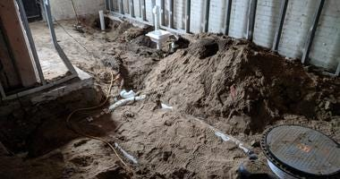 Bones Discovered Under Concrete At Former Dearborn Bar