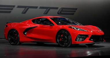 Corvette Stingray Is The Car Of The Year