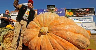 Giant Pumpkin Winner
