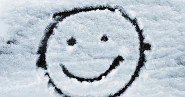 smiley face snow