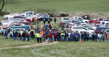 Volunteers search for Jayme Closs