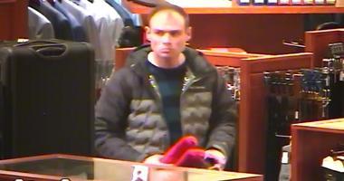 Von Maur  robbery suspect