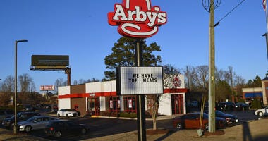 An Arby's sign in Georgia