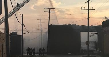 dearborn warehouse fire