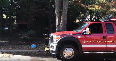 double fatal fire Grosse Pointe