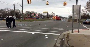 pedestrian killed on Telegraph