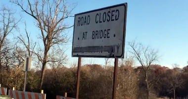 grosse ile free bridge closed