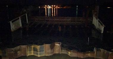 harsens island dock collapse