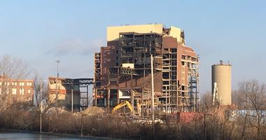 Conners Creek Power Plant implosion