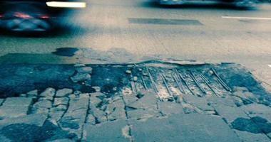 Potholes On I-75