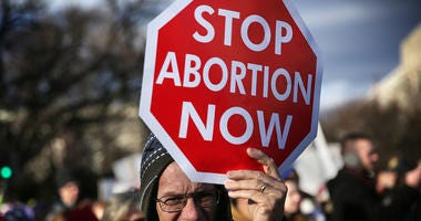 anti abortion sign