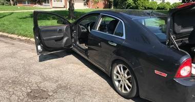 suspect vehicle I-75 chase