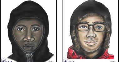 suspect sketches Detroit homicide
