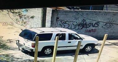 Dog theft - suspect vehicle
