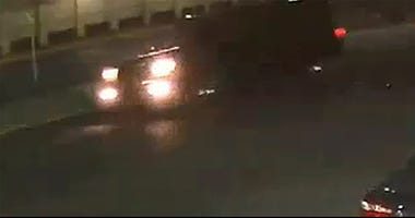 suspect vehicle hit-and-run