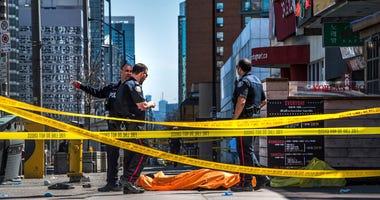 Toronto van kills 9 - AP