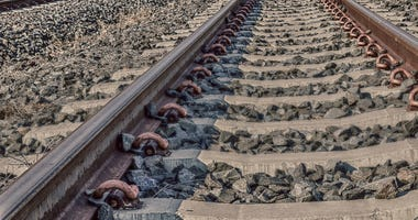 train tracks railroad