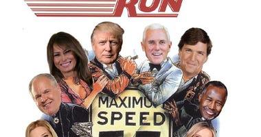 Trump cannonball run