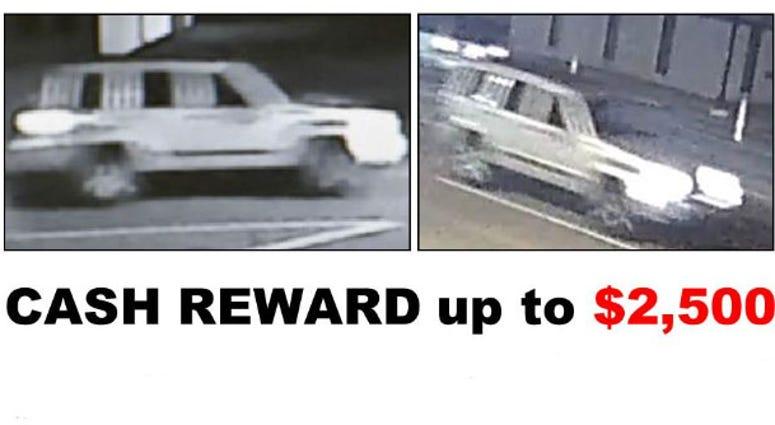 wanted vehicle Warren hit and run
