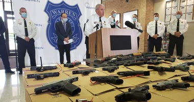 warren guns seized