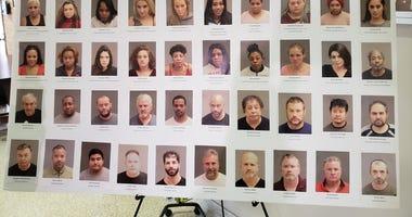 warren human trafficking arrests