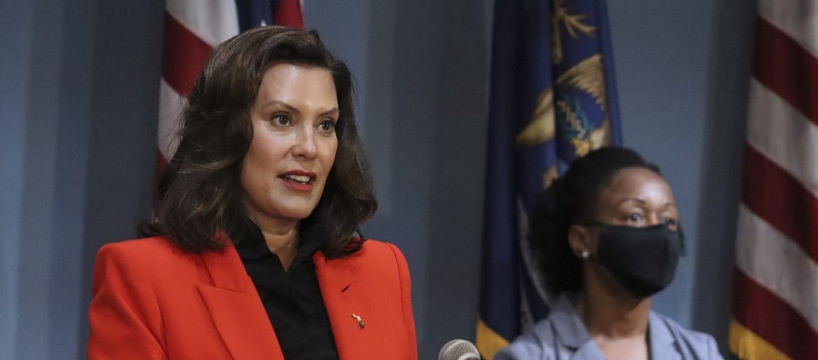 Gretchen Whitmer S Approval Rating Rises During Pandemic Wwj Newsradio 950