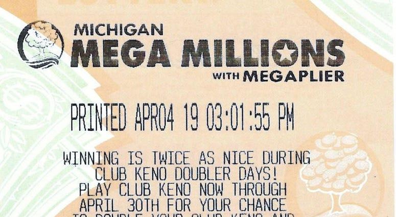 winning mega millions ticket