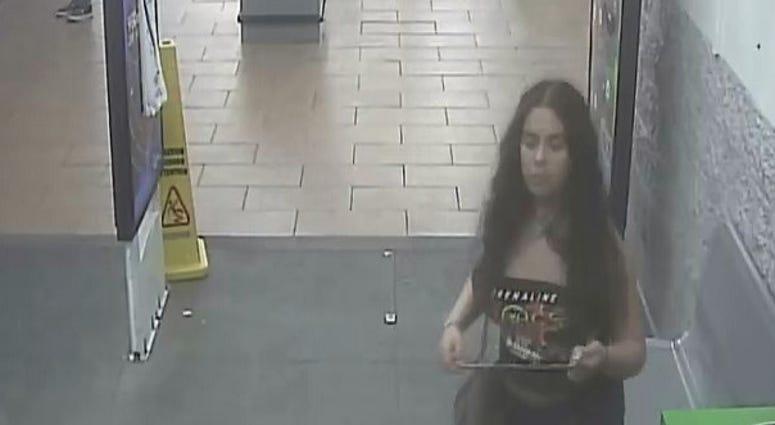 woman peed on potatoes