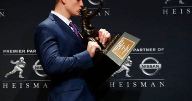 Joe Burrow Heisman Trophy