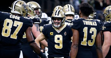 Drew Brees in win over the Colts