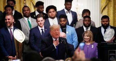 President Trump, LSU Tigers
