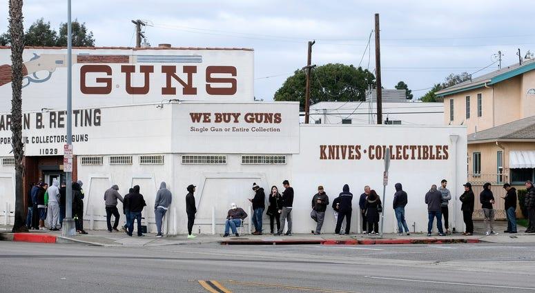 Coronavirus gun sales