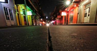 Deserted Bourbon Street