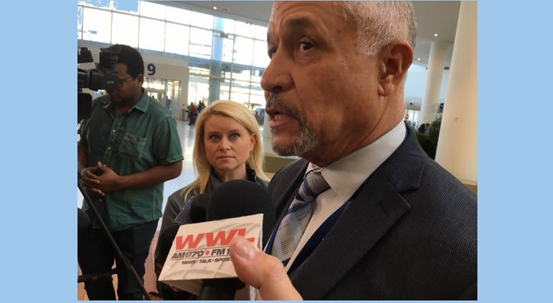 Airport Director Kevin Dolliole is confident the new terminal is ready for the crush load