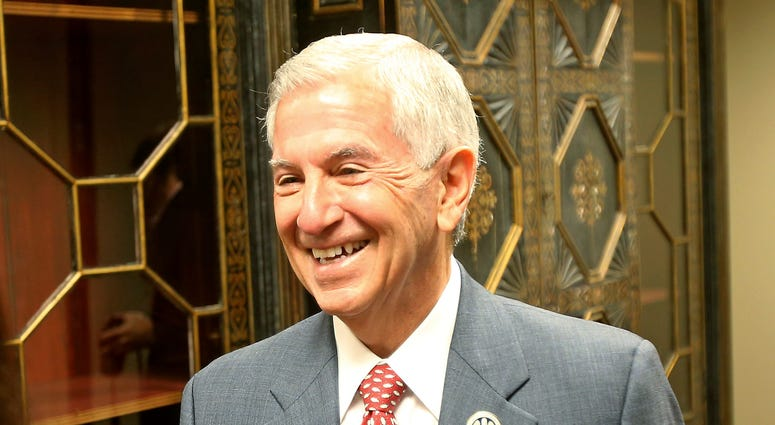 Republican candidate Eddie Rispone talks about his campaign