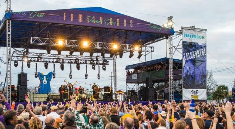 Family Gras line up changes