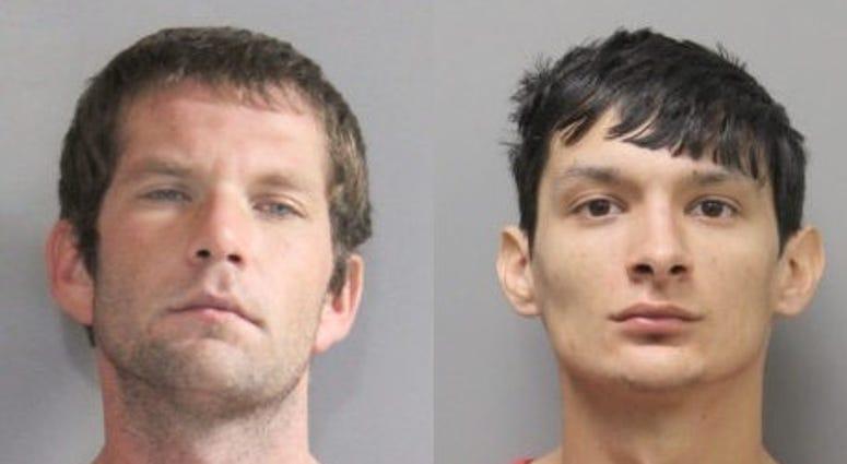Suspects in burglary